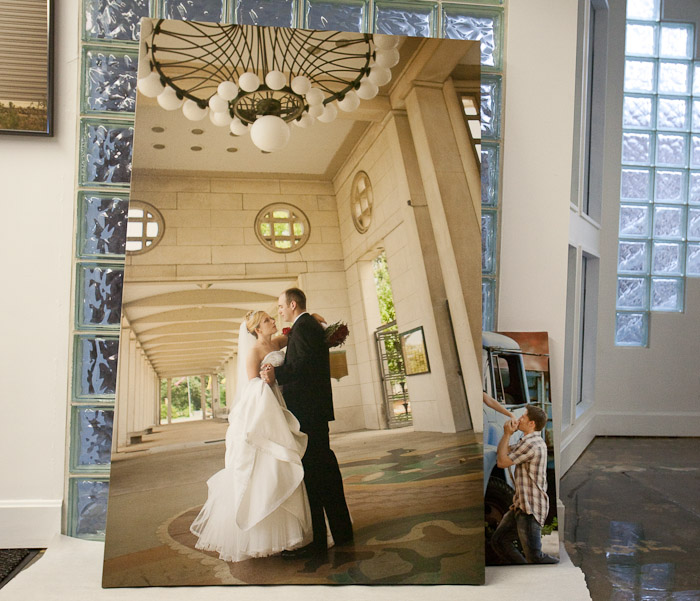 Canvas Photo Prints, Studio Photography, Tom Schmidt, Tom and Jerry Wedding, Kansas City