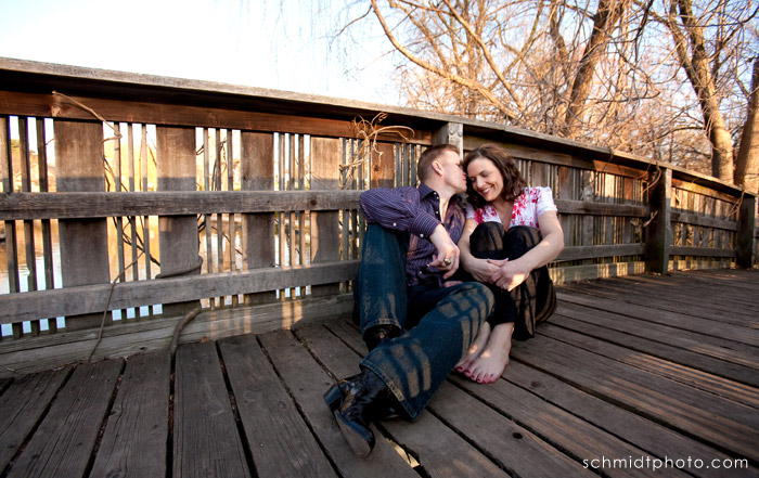TS Engagement Photography - Kansas City Wedding Photo
