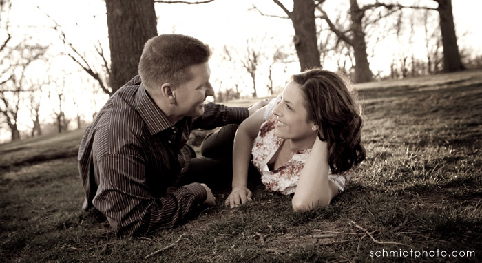 Tom Schmidt Engagement Photography - Kansas City Wedding Photo