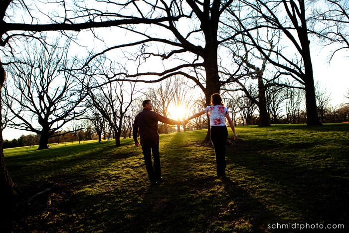 TS Engagement Photography - Kansas City Wedding Photo
