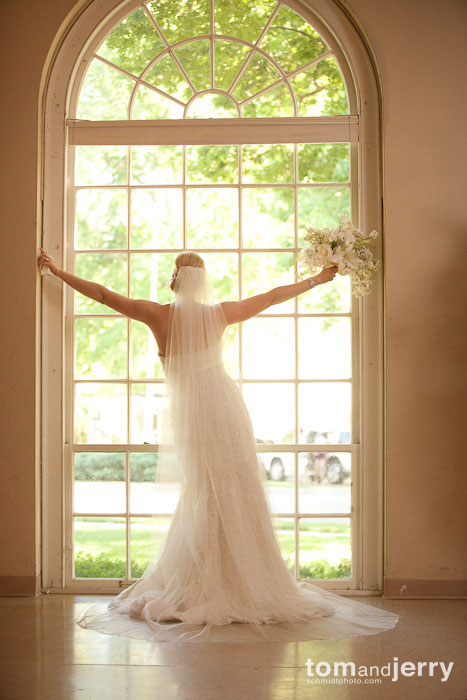 Qflash in Small Softbox, Wedding Photography, Kansas City