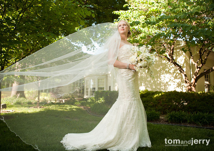 Tom and Jerry Wedding Photography, Qflash in Small Softbox, Wedding Photography, Kansas City