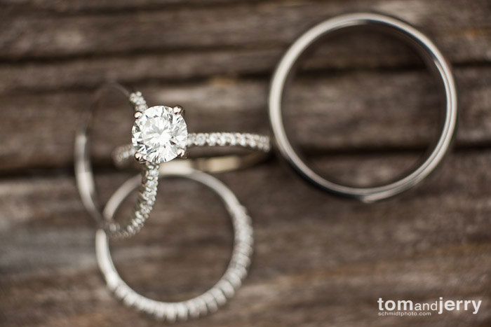 Tom and Jerry Wedding Photography, Wedding Ring